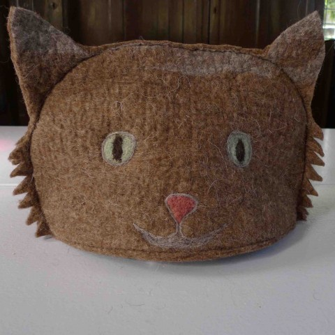 Large cat tea cosy