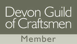 Member of the Devon Guild of Craftsmen