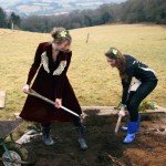 Natural burial - family