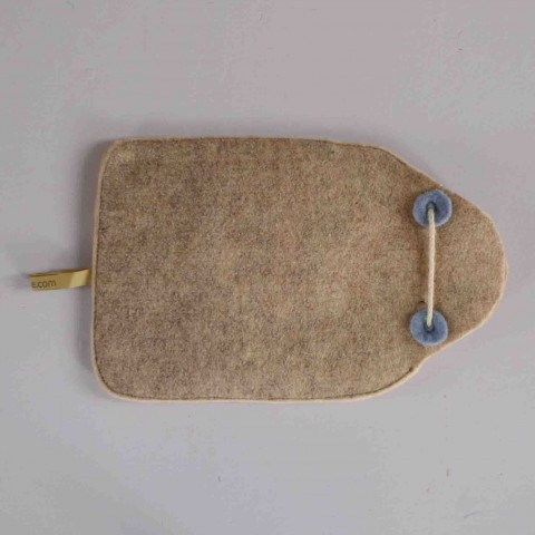 wool felt hot-water-bottle cover