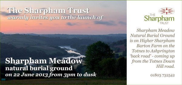 Sharpham natural burial ground