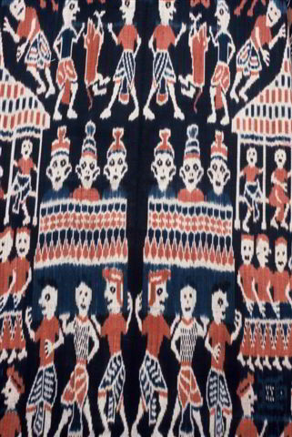 Sumba Ikat cloth