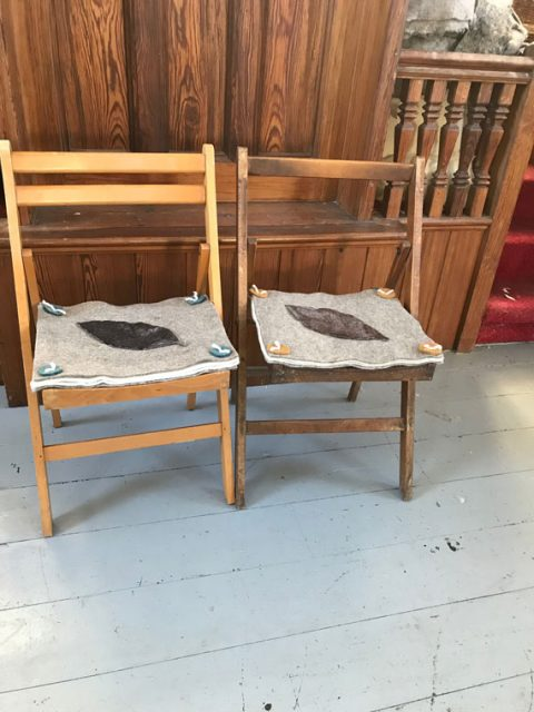 Tuffets for chairs