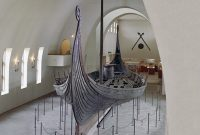 The Oseberg burial ship, Oslo